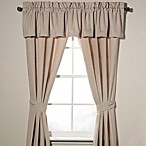 Nautica® Eden Glen Window Treatment Set in Khaki