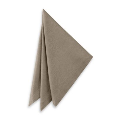 Waterford® Sarah Napkins in Platinum (Set of 2)