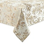 Waterford® Marcelle Tablecloth and 2-Pack of Napkins in Ivory