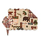 Dakota Reversible Placemat and Napkin