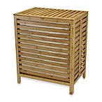 Household Essentials® Natural Bamboo Hamper