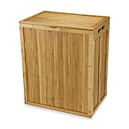 Household Essentials® Folding Bamboo Hamper