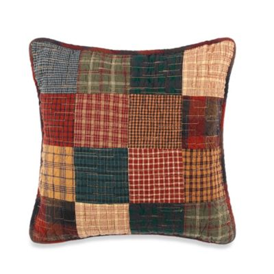 Campfire Square Throw Pillow