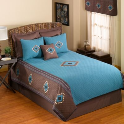 Donna Sharp Desert Star Twin Bed Skirt