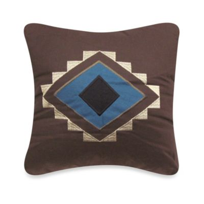 Desert Star 15-Inch Square Decorative Pillow