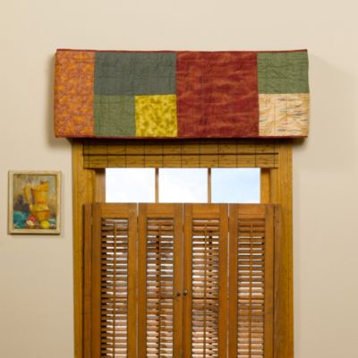 Donna Sharp Southwest Square Window Valance