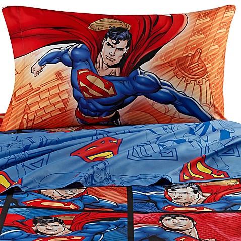 Superman sheet set www bedbathandbeyond ca