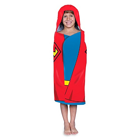 Superman Hooded Wrap Towel