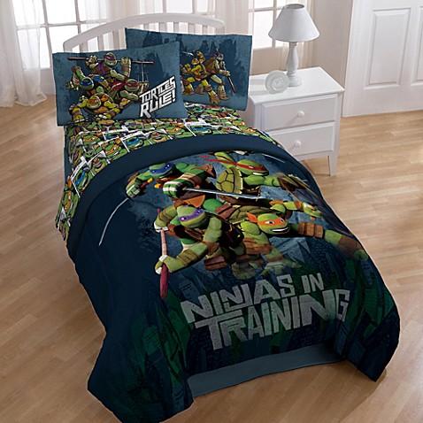 Teenage Mutant Ninja Turtles Dark Ninja Bedding And