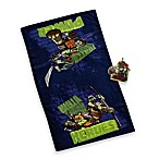 Teenage Mutant Ninja Turtles Bath Towel and Wash Mitt Set