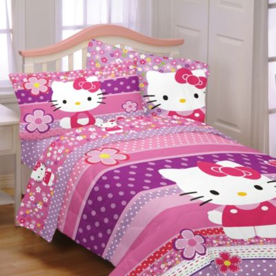Hello Kitty Twin/Full Comforter