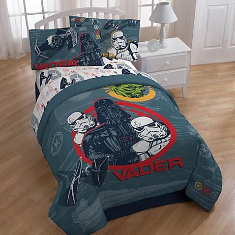 Disney Star Wars Characters Printed Twin Full Comforter