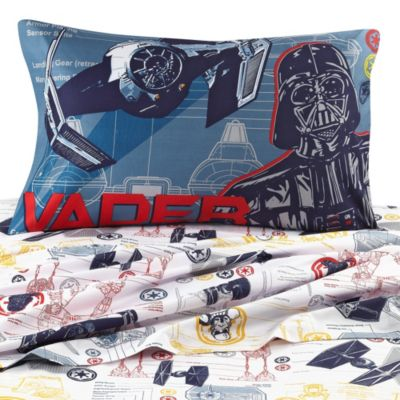 Disney® Star Wars™ Characters Printed Full Sheet Set