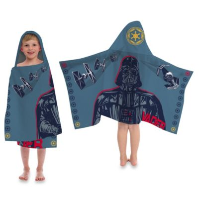 Disney® Star Wars™ Printed Characters Cape-Style Hooded Towel