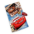 Disney® Cars Bath Towel and Wash Mitt Set