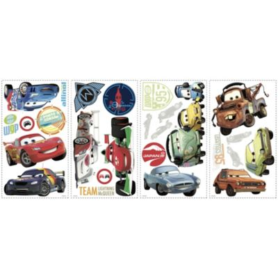RoomMates® Cars 2 Peel and Stick Wall Decals