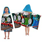 Thomas the Train Printed Characters Cape-Style Hooded Towel