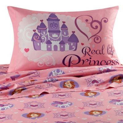 Disney® Sofia the First Twin Sheet Set
