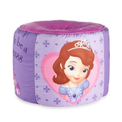 Disney® Sofia the First Printed Pouf