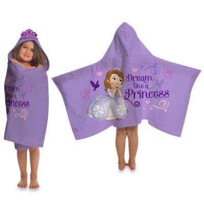Disney® Sofia the First Cape-Style Hooded Towel