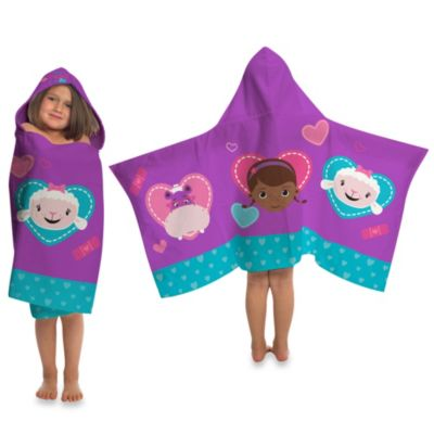 Disney® Doc McStuffins Cape-Style Hooded Towel