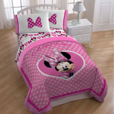 Disney® Minnie Printed Twin/Full Comforter