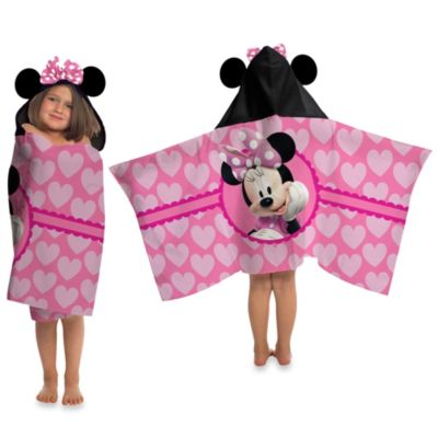 Disney® Minnie Cape-Style Hooded Towel