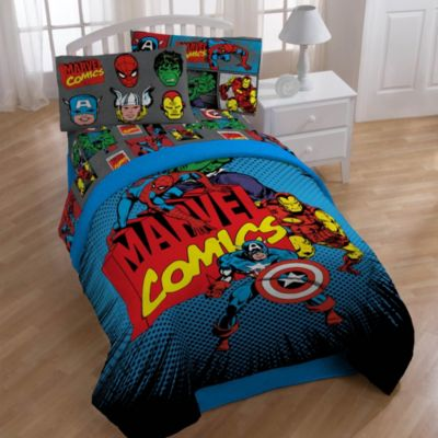 "Disney® Marvel Heroes ""Super Heroes"" Printed Twin/Full Comforter"