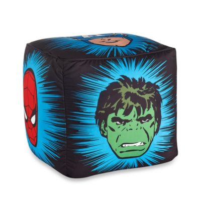 "Disney® Marvel Heroes ""Super Heroes"" Printed Pouf"