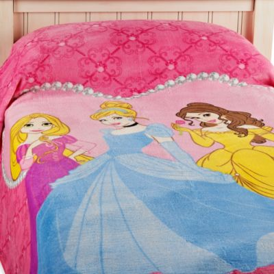 Disney® Princess Tiara Blanket