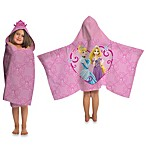 Disney® Princess Tiara Cape-Style Hooded Towel