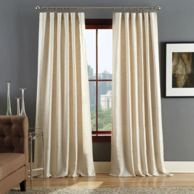 Reed Rod Pocket Window Curtain Panels