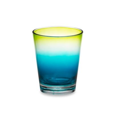 Ombre Cool 16-Ounce Double Old-Fashioned Glass