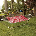 Reversible Hammock with Pillow in Shoulder Stripe