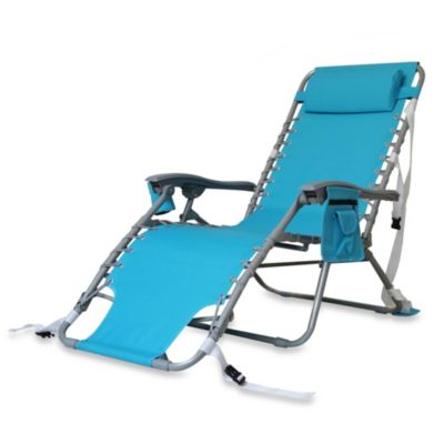Aluminum Beach Relaxer Chair