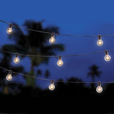 Decorative 20-Count Café String Lights