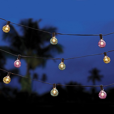 Colorful String Lights : Buy Multi-Colored Threaded Ball String Lights from Bed Bath & Beyond