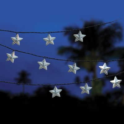 Decorative Star Light String (Set of 10)