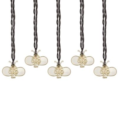 String Lights Bed Bath And Beyond : Decorative Bee Light String (Set of 10) - Bed Bath & Beyond