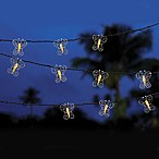 Decorative Butterfly Light String (Set of 10)
