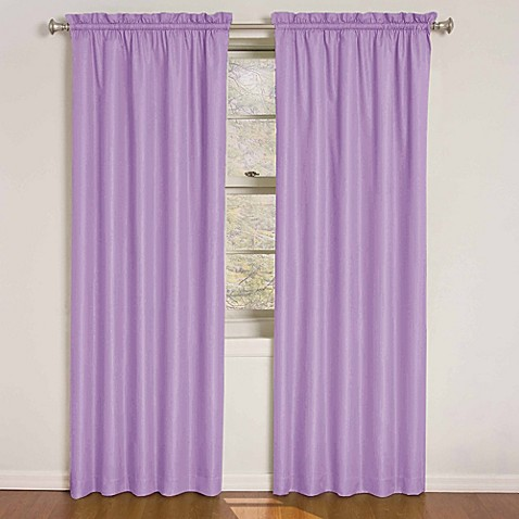 Insola Wonder Kids Rod Pocket Blackout Window Curtain Panels