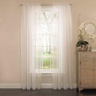 Arm & Hammer™ Curtain Fresh™ Odor Neutralizing Sheer Window Curtain Panels