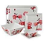 Cherry Blossom Photoreal Square Dinnerware