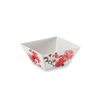 Soft White Square Bowl