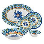 Azul Hand Painted Round Dinnerware Collection