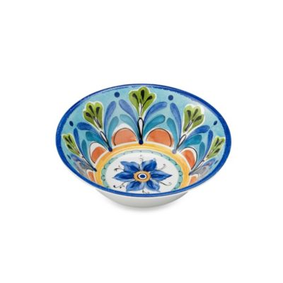 Azul Hand Painted 7.5-Inch Round Cereal Bowl