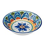 Azul Hand Painted 13.8-Inch Round Serving Bowl