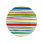 Stripes on the Strand 10.5-Inch Round Dinner Plate