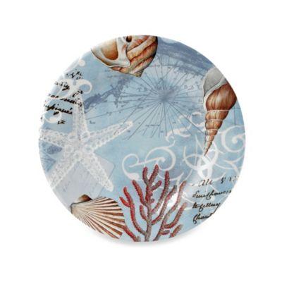 Tramore Bay Round 10.5-Inch Melamine Dinner Plate