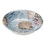 Tramore Bay Round 13.8-Inch Melamine Serving Bowl